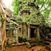 Viele Tempel-Ruinen als Sehenswürdigkeiten in Siem Reap und Angkor Wat.