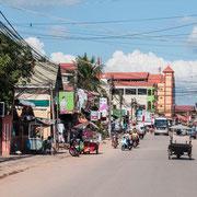 Stadtzentrum in Siem Reap