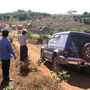 Ausflug mit dem Geländefahrzeug in der Umgebung.