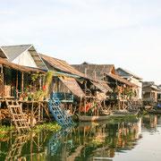 Kampong Plukk schwimmendes Dorf