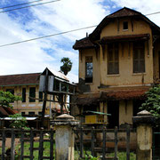 Colonial house in Kampot