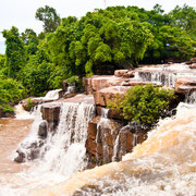Kbal Chhay Waterfall in Sihanoukville