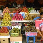 Täglich frische Märkte in Phnom Penh