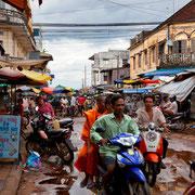 Regnerische Tage in Kambodscha