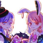 29枚目「ウサギ」 2019.7.29 2時間 CLIP STUDIO PAINT
