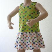"Kinderkleid Kathi Modell ""Schmetterlinge"""