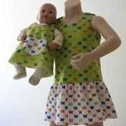 Kinderkleid Kathi und Puppenkleid Anni