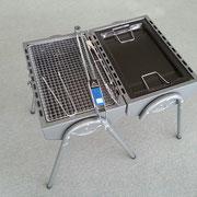 バーベキューコンロ 折り畳み式