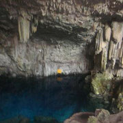 See in der Cueva Saturno