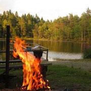 Naturreservat Svartedalen - unser Übernachtungsplatz
