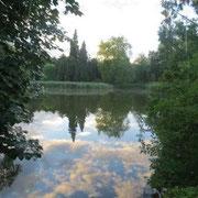 Im Stadtpark von Wiesenburg