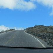 Mount Washington Auto Road - Auf dem Weg zum Gipfel