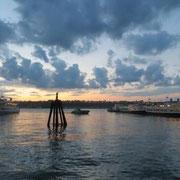 Abendstimmung am Hudson River