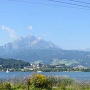 Beim Wandern auf den Dietschi-Berg