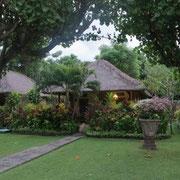Unser Bungalow im Taman Sari Cottages