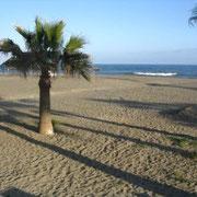 Am Strand von Estepona