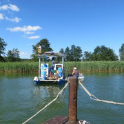 Das Kiosk-Boot