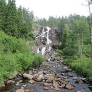 Elchwasserfälle in Norwegen