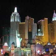 Der erste Eindruck von Las Vegas