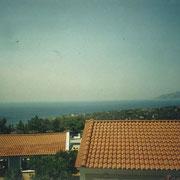 Ausblick von unserem Balkon bei strahlendem Sonnenschein...