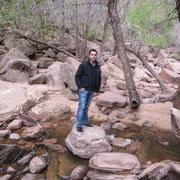 Auf dem Weg zu den Emerald Pools im Zion Nationalpark