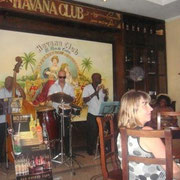 In der Bar des Havana Club Rum Museums