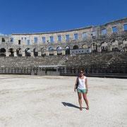 Amphitheater in Pula