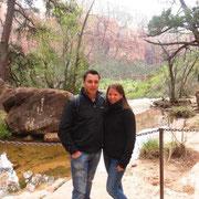 Wanderung zu den Hanging Gardens im Zion Nationalpark