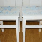 Nachttisch-Hocker H 50 x L 30 x B 30