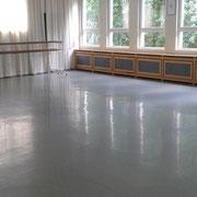 Ballettsaal hintere Ansicht