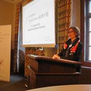 Willkommen im Historischen Rathaus in Freiburg                                          (Sabine H. Weber-Loewe, FWTM und China Forum Freiburg)
