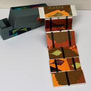 Antre, 2016, bois gravé, 4,3 X 11,4 X 4,3 cm, échelle de Jacob