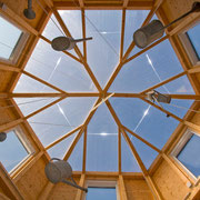 Unser Pavillion in Holzbauweise, ein außergewöhnlicher Ausblick