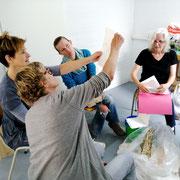 Workshop | Papierschöpfen mit Petra Decker-Schimanski | August 2019