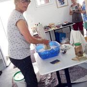 Workshop  Einlassen - Loslassen mit Marlies Fromm   August 2020