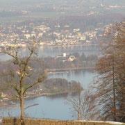 Blick auf den Traunsee vom Grasberg