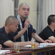 竹田総務より来月開催の青少年の一層のご協力要請がありました。