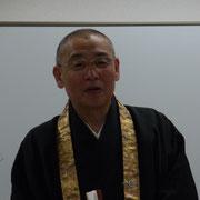 第3代群馬仏青会長の谷宗務所長。「天台宗大法会へ向けて頑張ります!」。