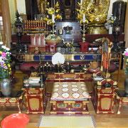 渋川市金蔵寺の本堂。今すぐリンクから金蔵寺ホームページへアクセス!