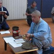 総会の前に浄法寺法要の習礼を行いました。