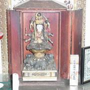 金蔵寺の弁天さまには大いなるご利益が!無事に満行しますように。