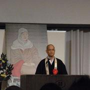 武延暦寺執行を講師に天台法華のみ教えをご講義いただきました。