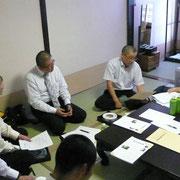 各教区の会長・代議委員で委員会を行います