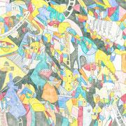 「骨とデザイン」 2015.5(409mm×318mm)【SOLD OUT】