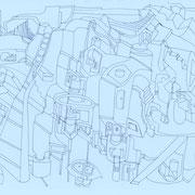 「空想建築3」 2011.10(210mm×297mm)