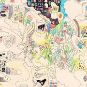 「チューイングガムから広がる世界」 2014.9 (409mm×318mm)【SOLD OUT】