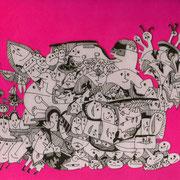 「顔がたくさん祭」 2010.10(210mm×297mm)