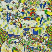 「子ども部屋の雰囲気」 2013.1(409mm×318mm)