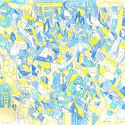 「ハイドロポリスとマッチの余韻」2015.5(530mm×455mm)【SOLD OUT】