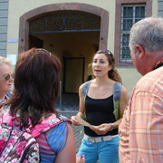 Tour Director Fatima Kilic in Rothenburg